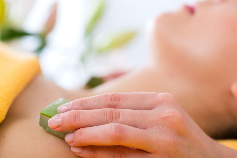 Aloes ratunkiem dla skóry