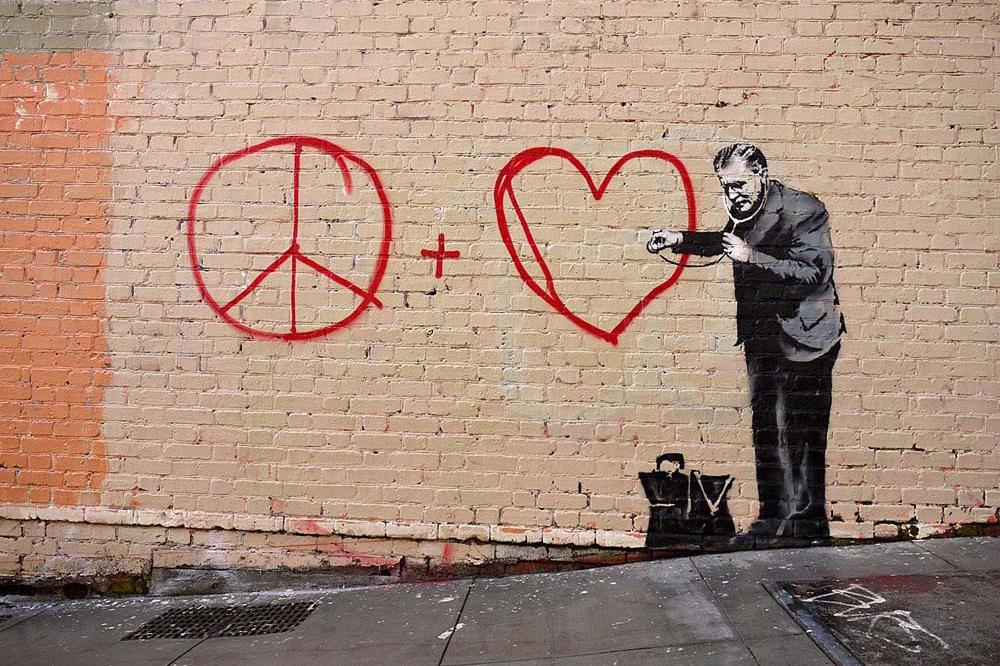 W końcu Banksy zdemaskowany