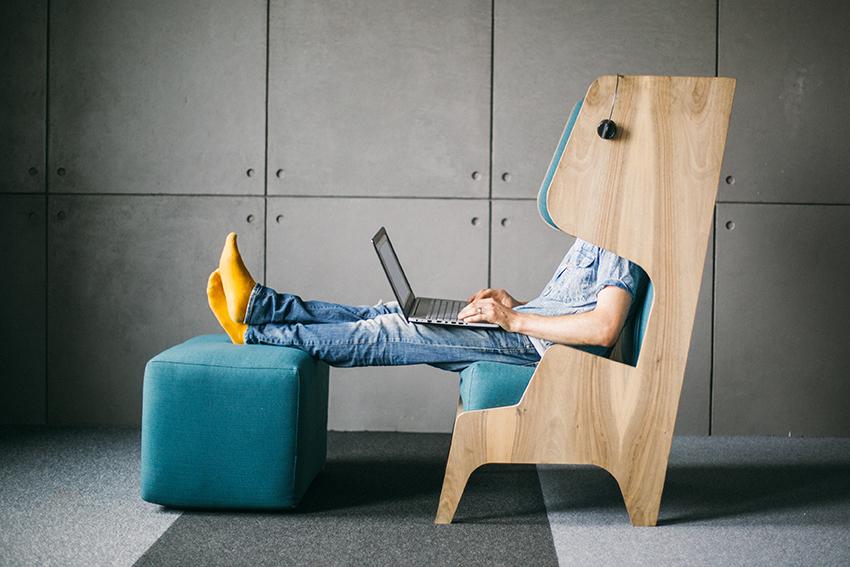 krzesło Focus Chair pozwoli Ci się skupić
