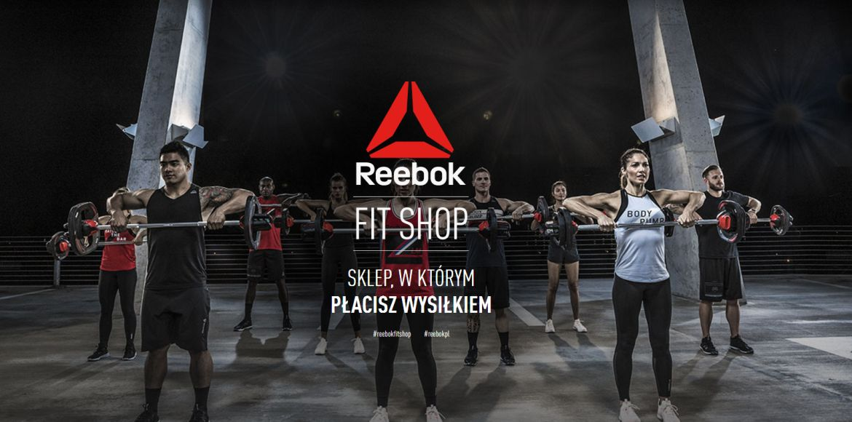 Reebok Fit Shop i waluta siły