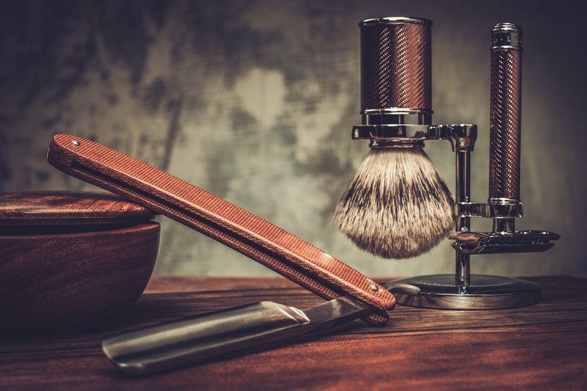 golenie brzytwą