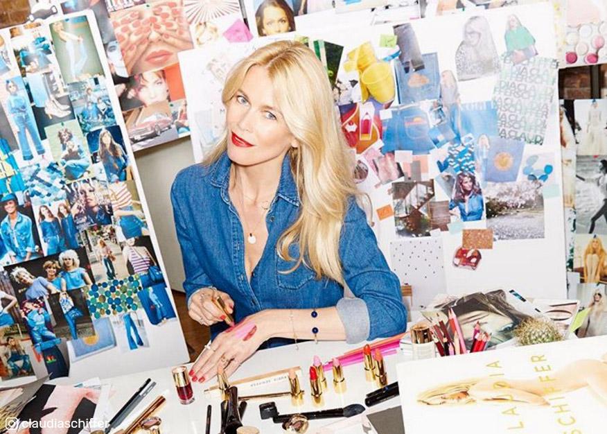 Claudia Schiffer stworzyła własną linię kosmetyków