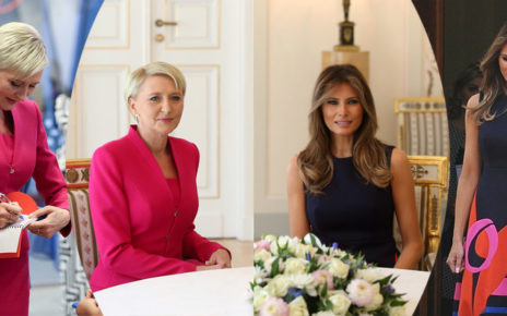 spotkanie Melania Trump i Agata Duda