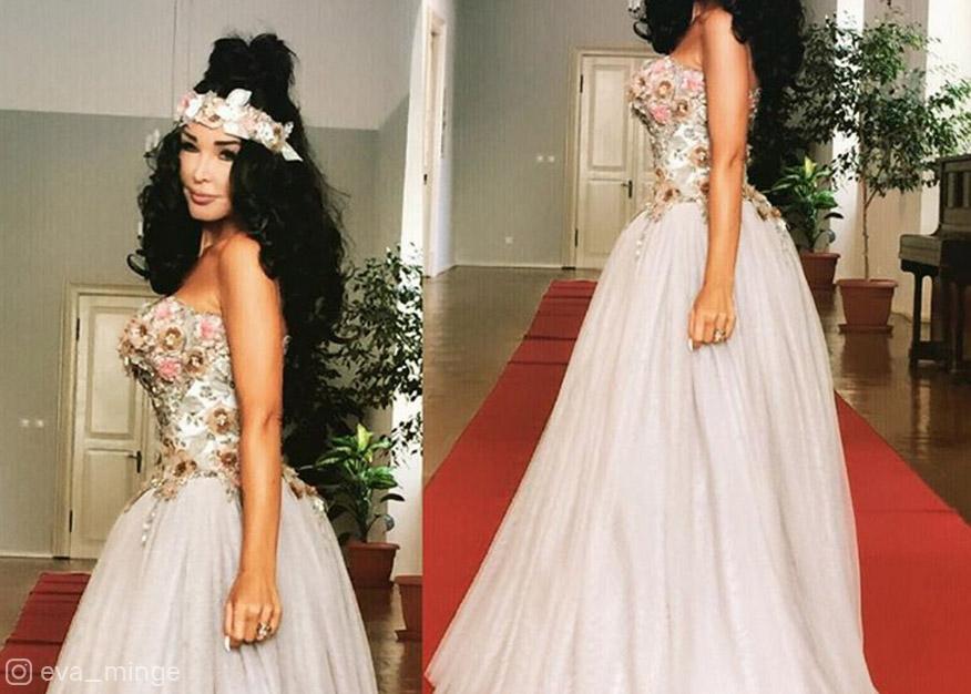 Eva Minge wyszła za mąż! Zobacz jej suknię ślubną