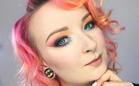 Kolorowe makijaże robią furorę na Instagramie