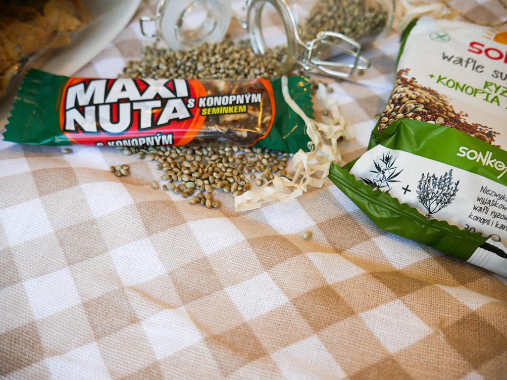 produkty z konopią na zdrowie