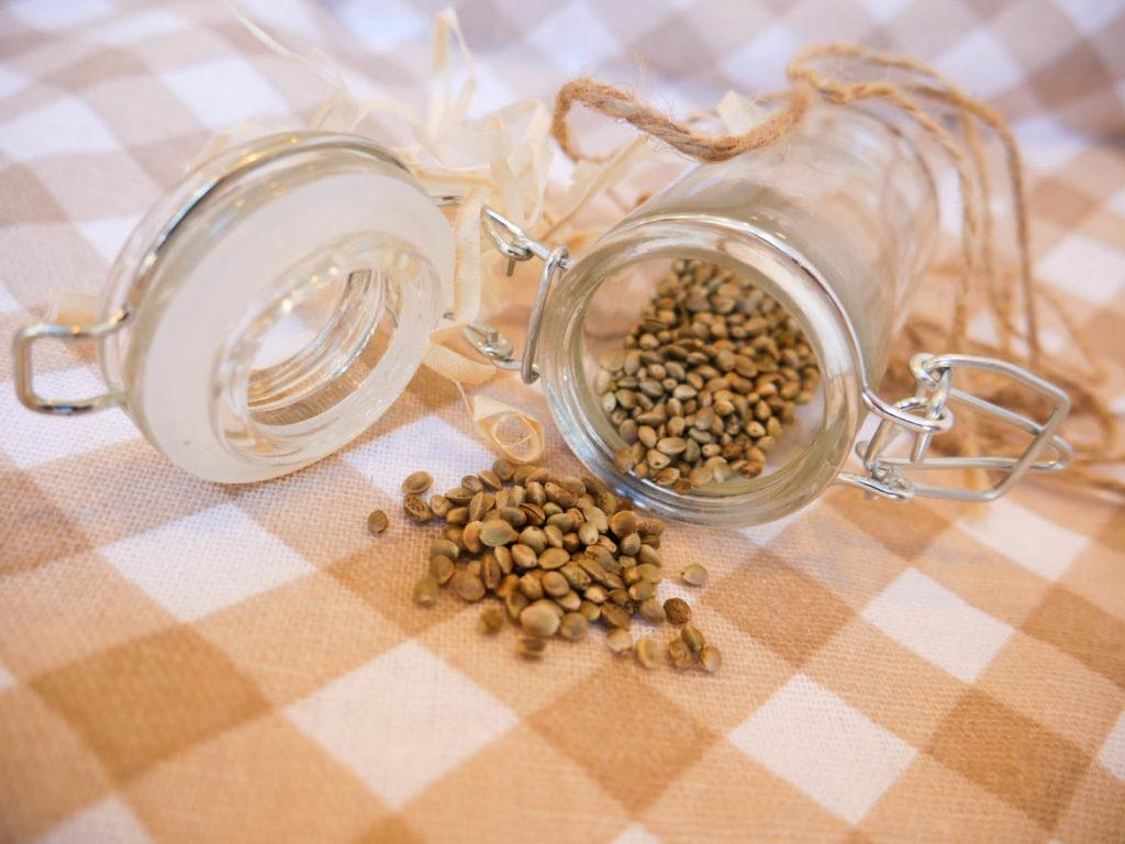 produkty z konopią nasiona