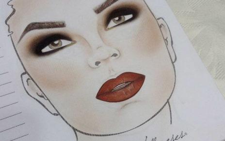 Face charts czyli karty do makijażu, robią furorę na Instagramie