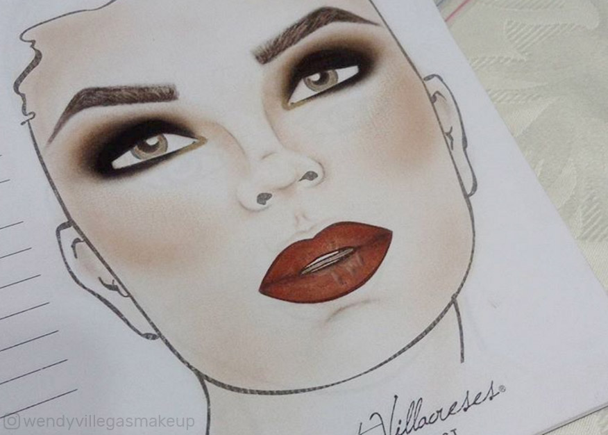 Face Charts Czyli Karty Do Makijażu Robią Furorę Na Instagramie