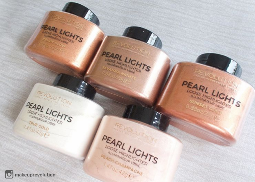 makeup revolution pearl lights