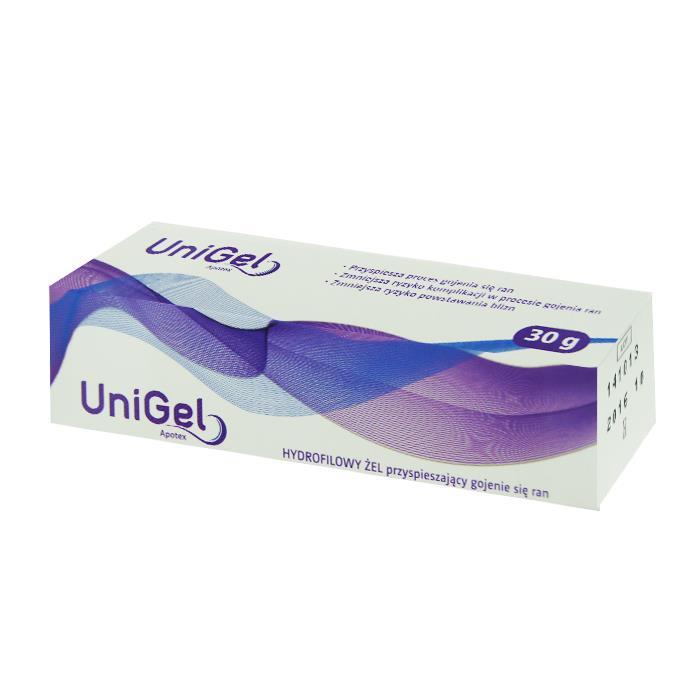 co na oparzenia słoneczne żel UniGel