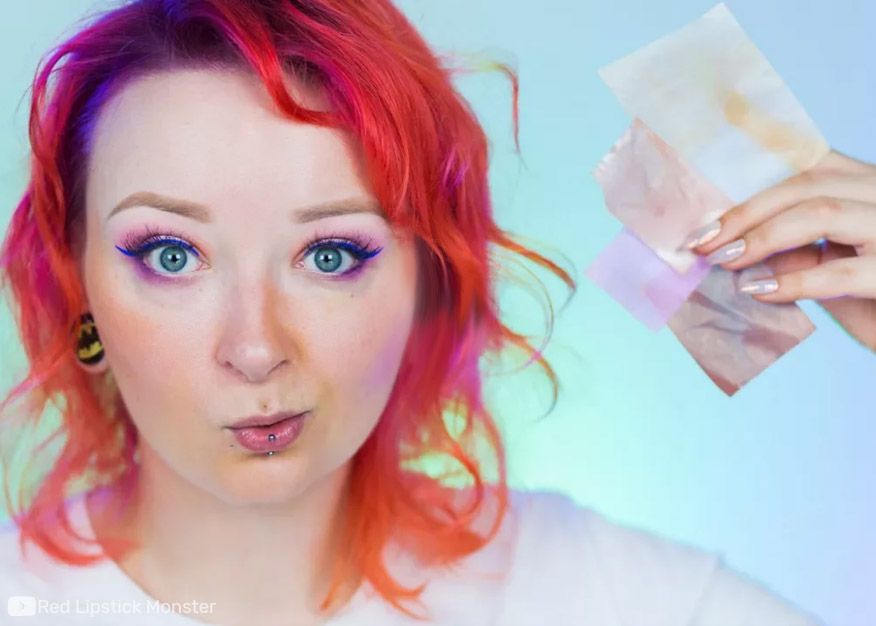 Karteczki robiące makijaż – hit czy kit?