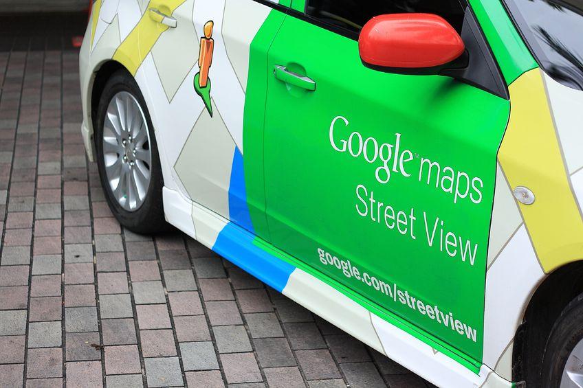 samochody Google na polskich drogach