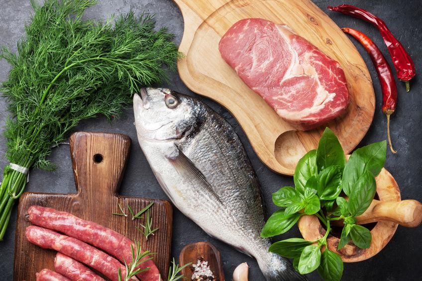 Mięso i suplementy na masę mięśniową