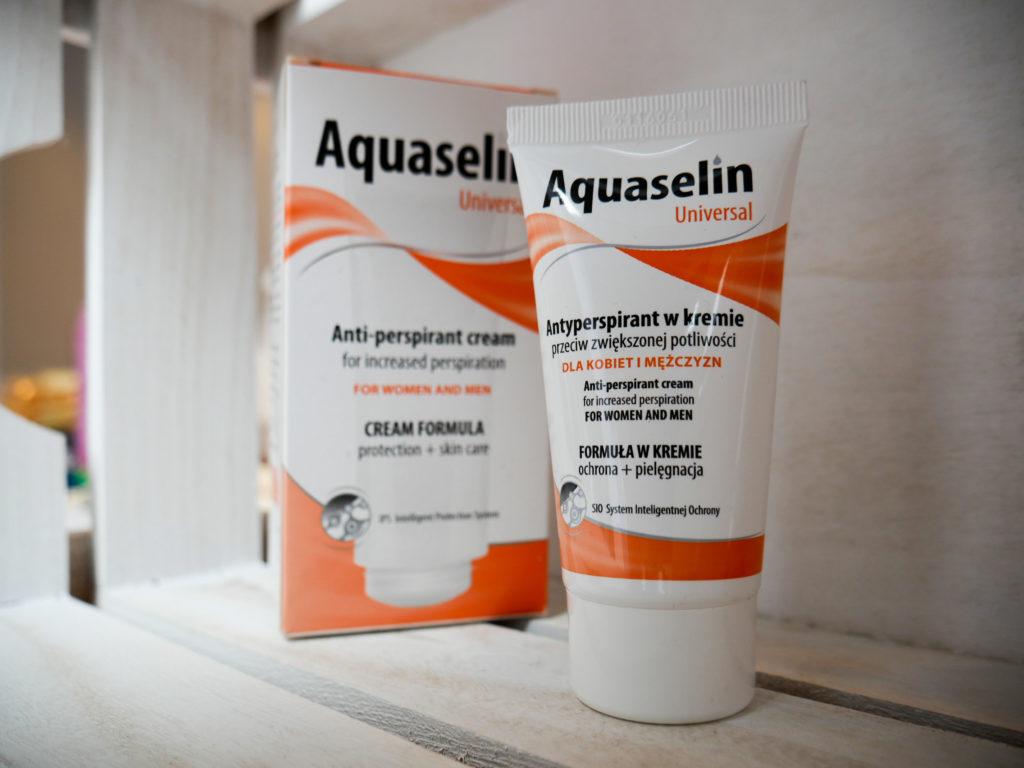 Sposób na pocenie czy krem Aquaselin pomaga