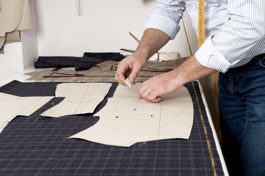 ubrania szyte na miarę przez krawca