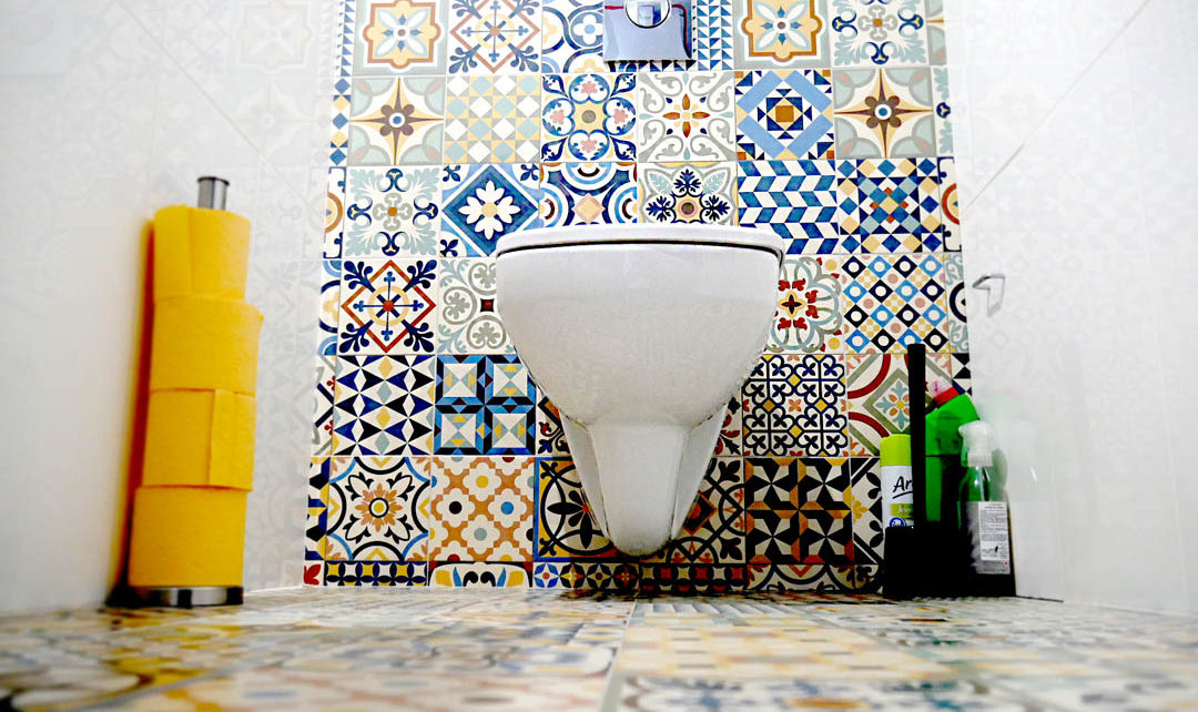 designerskie szczotki do WC