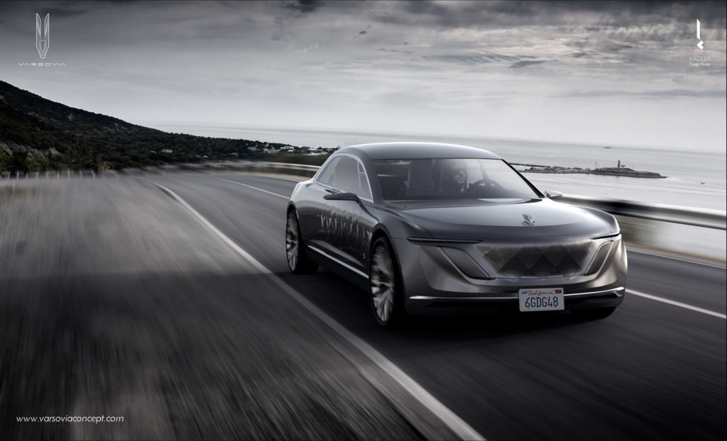 samochód przyszłości Varsovia