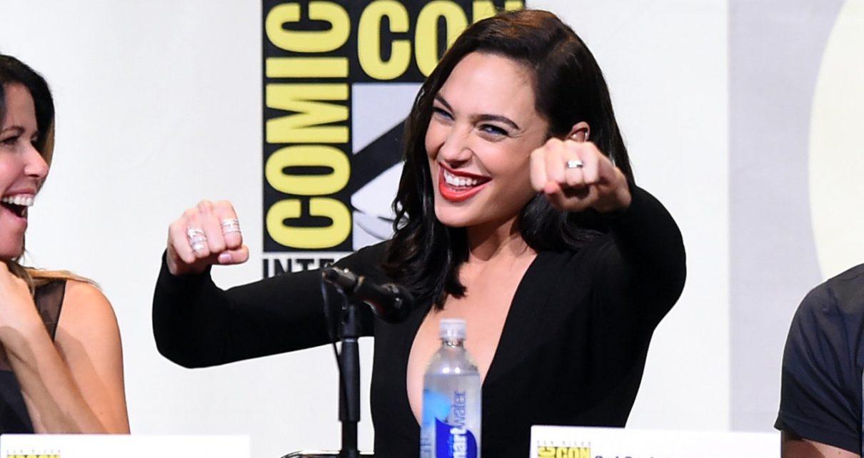 Miecz na plecach z filmu Wonder Woman